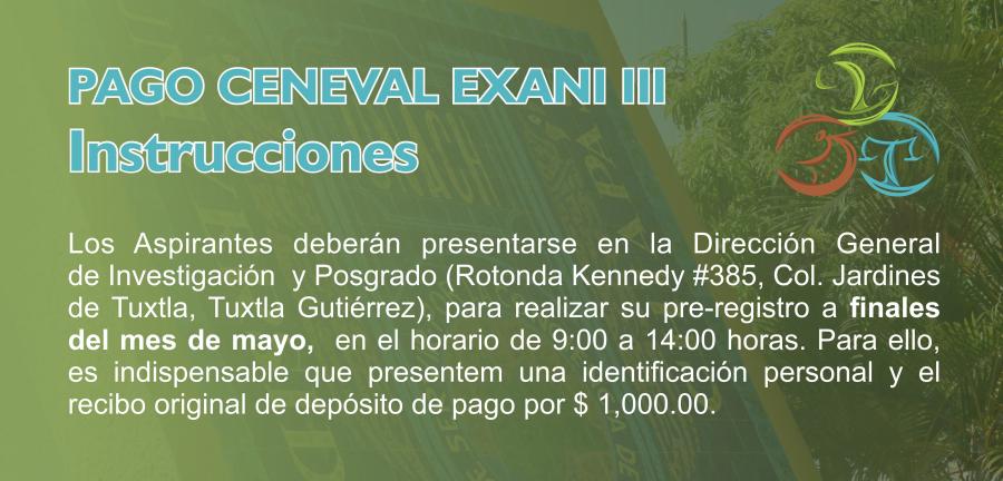 EXANI III 2020
